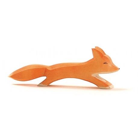 Fuchs groß laufend