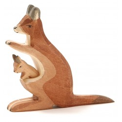 Känguru mit Kind 2-tlg