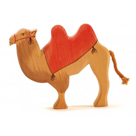 Ostheimer Kamel mit Sattel