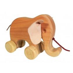 Ziehtier Elefant